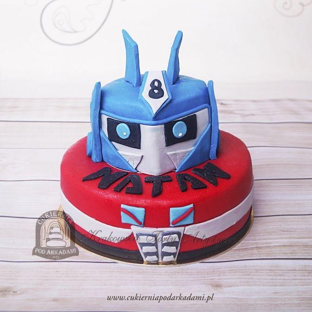 86BD. Tort Transformers: Voyager Optimus Prime.