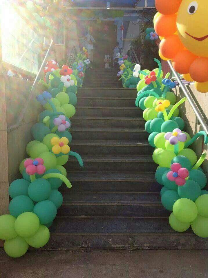 Best images about balloons stairway on pinterest
