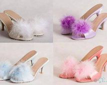 1000  images about The fOOfOO® Fluffy Mule Boudoir Slipper ...