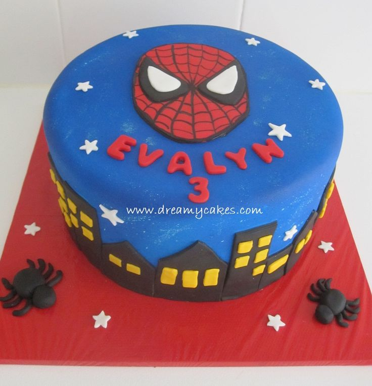 17 Best images about Spiderman Cakes on Pinterest Spider ...