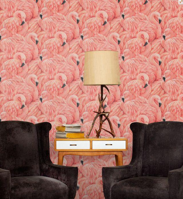 Superb - Albany flamingo wallpaper