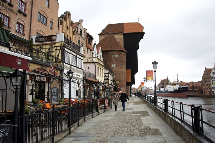 The landmark of Gdansk, a medieval crane called Zuraw.