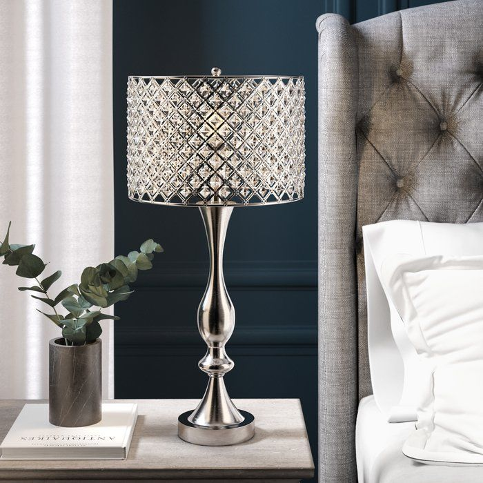 Leonard 66cm Table Lamp In 2020 Crystal Table Lamps Table Lamp Led Table Lamp