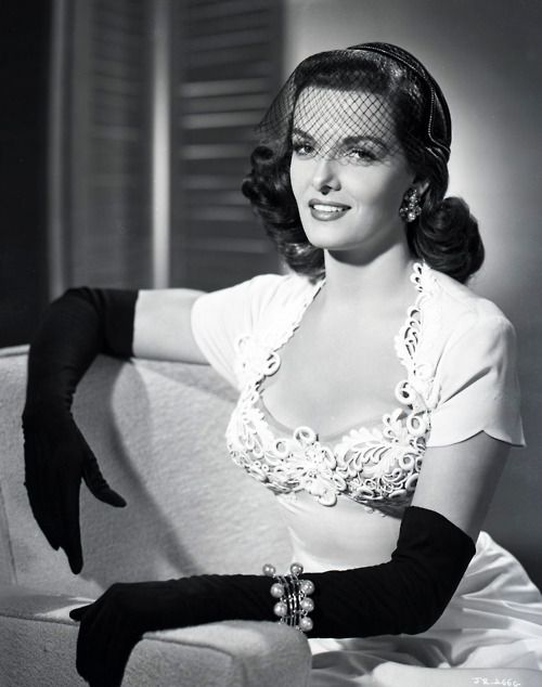 In this photo; she looks remarkably like my ex-wife JoJo . . . Jane Russell