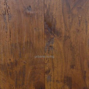 Hand Planed and Distressed Walnut Flooring.