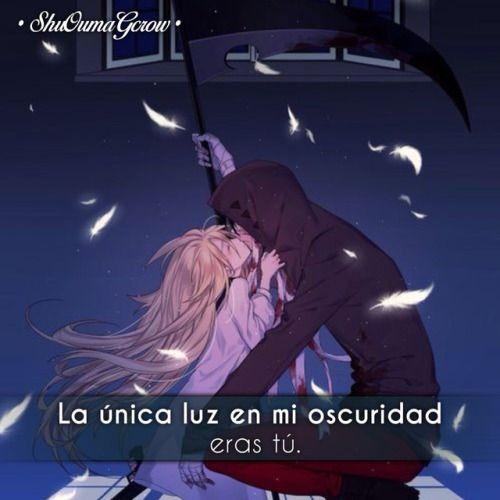 ShuOumaGcrow anime frases anime frases sentimientos amor