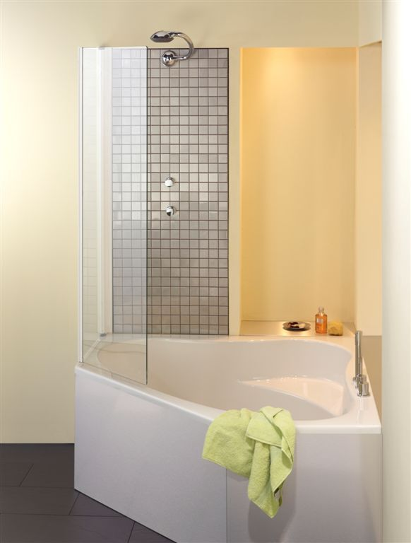 Les 25 meilleures id es concernant pare douche baignoire for Baignoire et douche a cote
