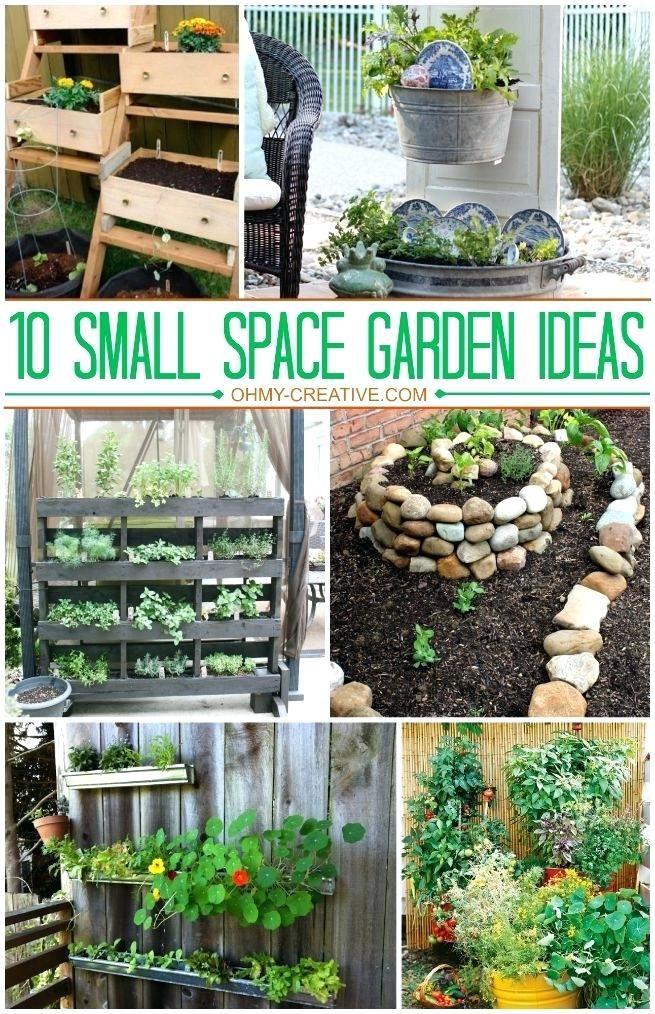 Garden Design For Small Gardens Catchy Small Space Gardening Ideas