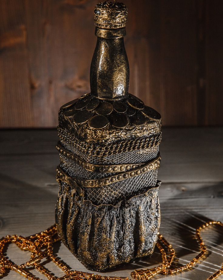 каталоге декор бутылки мастер класс с пошаговым фото галки, грачи вороны