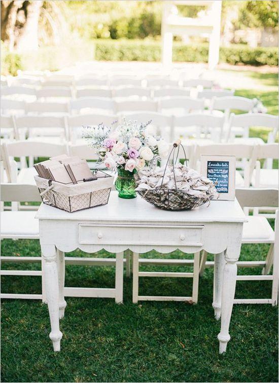 ceremonia, programa de la boda