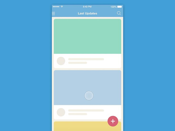 7 types of animations for mobile app