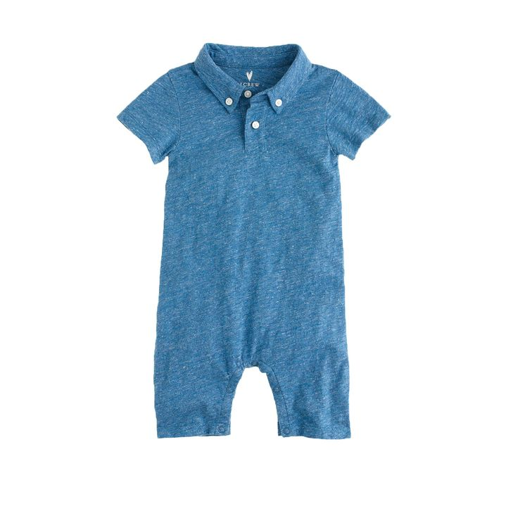 Baby polo one-piece - one-pieces - Baby's Baby - J.Crew