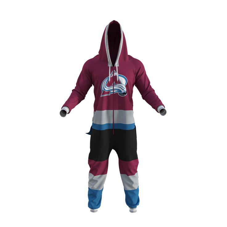 Colorado Avalanche Onesie  http://www.hockeysockey.com/nhl-onesie-colorado-avalanche
