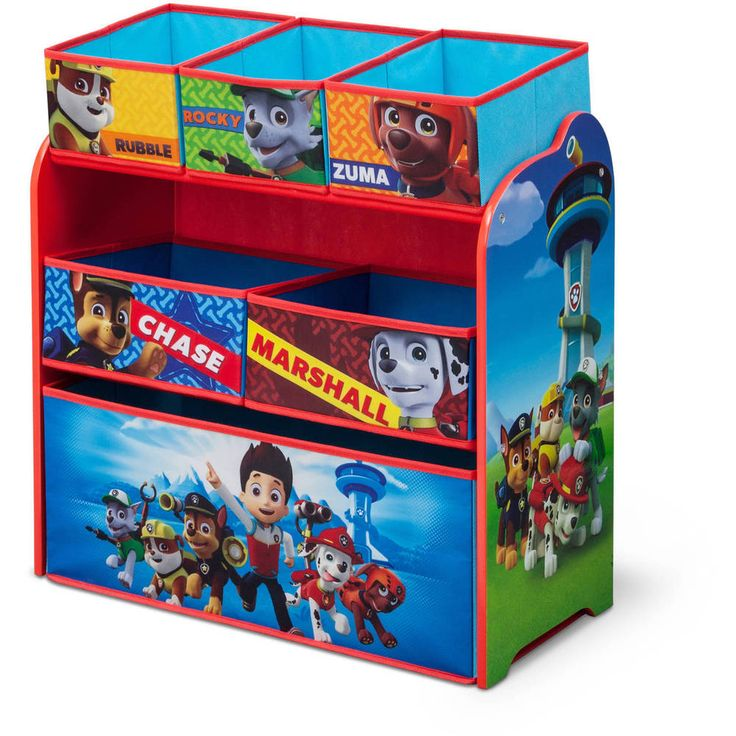 Paw Patrol Kids Toy Organizer Bin Children S Storage Box: 1000+ Ideas About Paw Patrol Toys On Pinterest