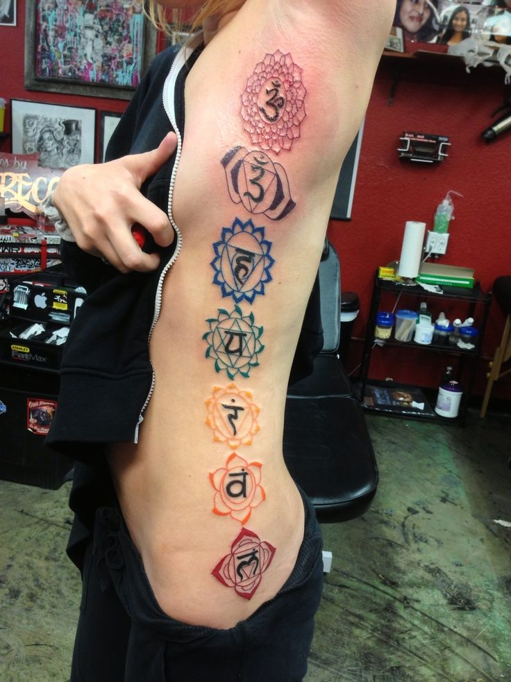 chakra symbols tattoo - Google Search
