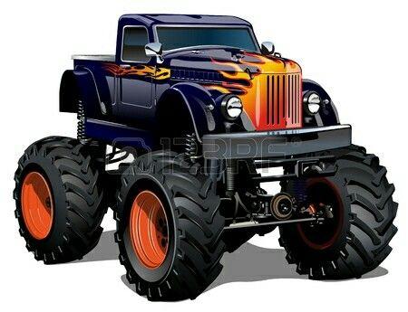 8 melhores imagens de monster truck no pinterest desenhos animados