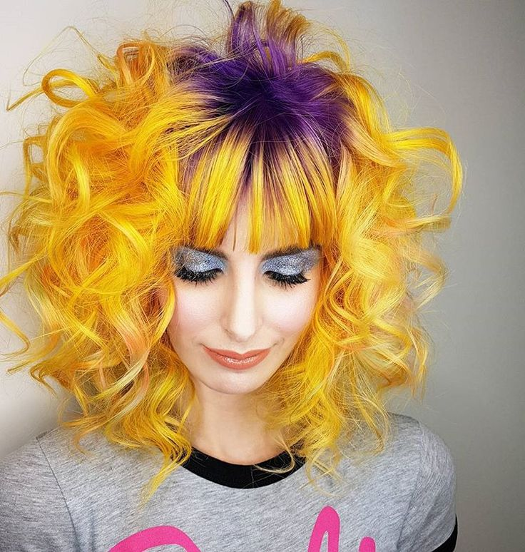 Pin by CHITAA on Hair dye ideas in 2020 Yellow hair