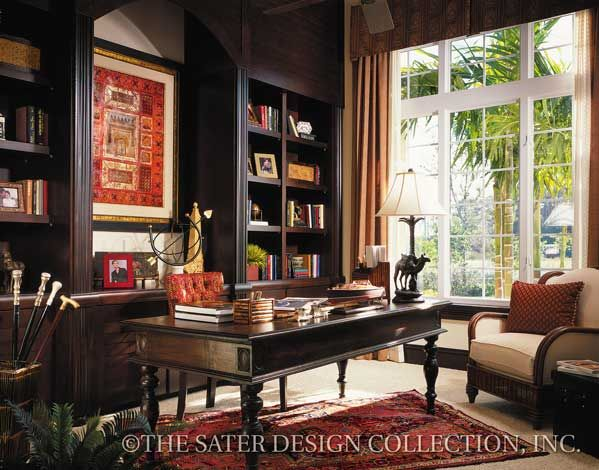 """The Sater Design Collection's luxury, Mediterranean home plan """"Martinique"""" (Plan #6932). http://saterdesign.com/product/martinique/"""