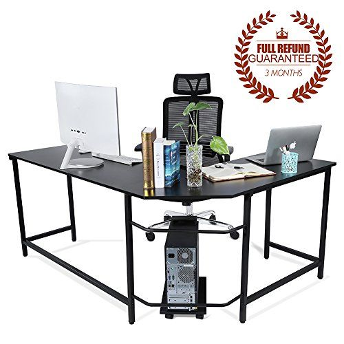 Astonishing Ej Life L Shaped Corner Computer Desk Computer Office Large Home Interior And Landscaping Ferensignezvosmurscom