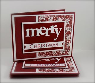 papertrey ink: Scraps Mak Cards, Cards Ideas, The Sets, Christmas Stuff, Cards Papertrey Ink, Pti Christmas, Merry Christmas Cards, Greeting Cards, Su Christmas