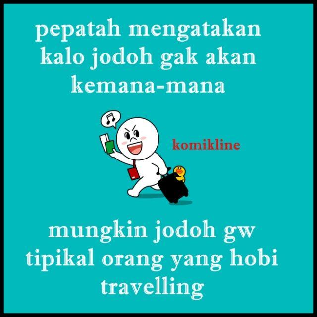 jodoh hobi travelling