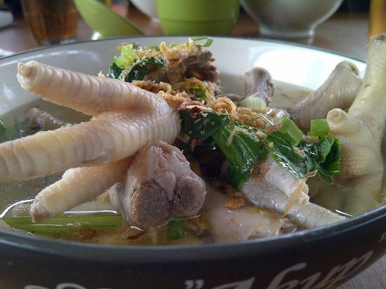 Resep dan Cara Membuat Masakan Sup/Sop Ceker Ayam
