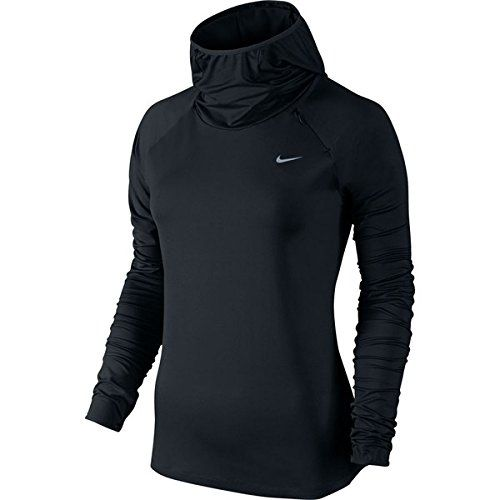 (ナイキ) Nike レディース トップス 長袖シャツ Element Hooded Shirt 並行輸入品  新品【取り寄せ商品のため、お届けまでに2週間前後かかります。】 カラー:Black/Reflective Silver カラー:-