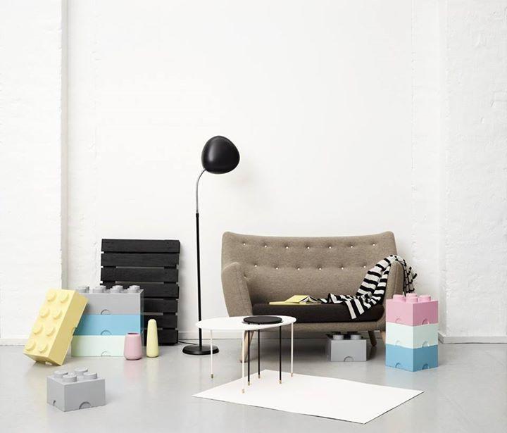 Luxury LEGO Aufbewahrungs Boxen in Pastellfarben von Room Copenhagen Preis uac inkl