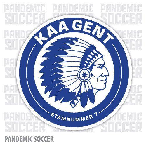 Kaa Gent Belgium Vinyl Sticker Decal