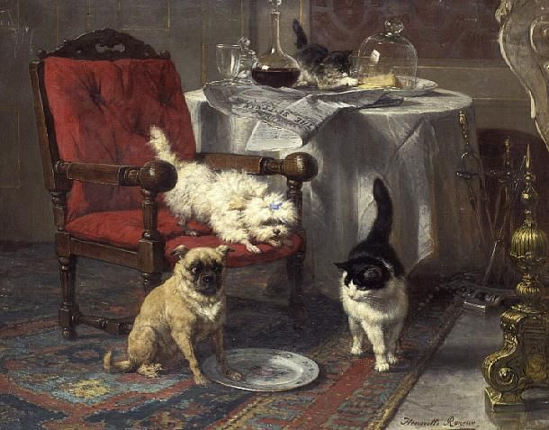 Henriëtte Ronner-Knip (1821-1909) - Pesquisa Google