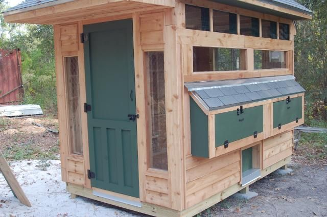 Craftsman Coop Maybe Hubby Will Let Me Have Chickens
