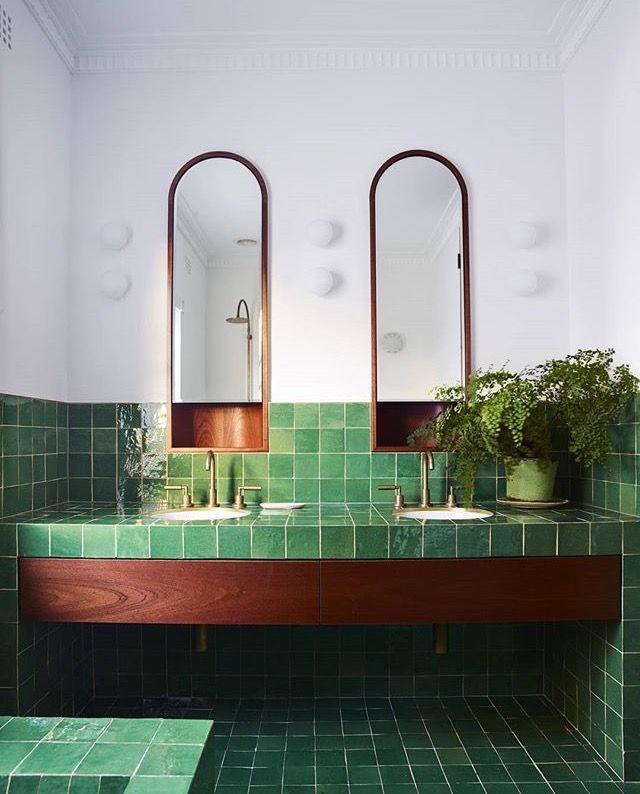Welcome 2020 Green Tile Bathroom Bathroom Tile Designs Bathroom Interior Design