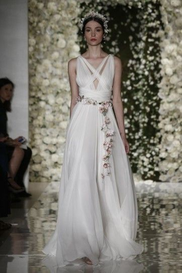 Vestito stile impero  Reem Acra 2016