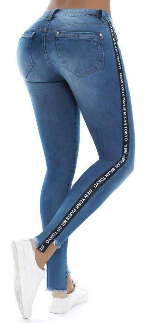 cfef6430b Jeans Nye21208 | Jeans | Pantalones de mezclilla, Jeans de moda ...
