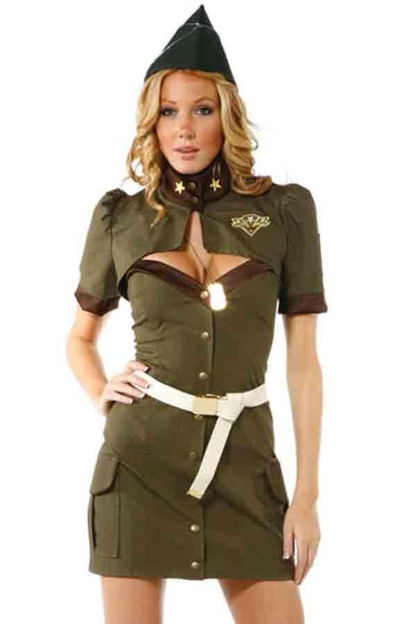 Pin Up Army Girl Costume #Pin #Costume #maykool
