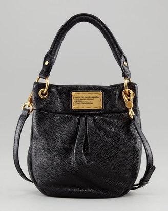 909fe7bda4 ShopStyle:MARC by Marc Jacobs Classic Q Mini Hillier Hobo Bag, Black ...