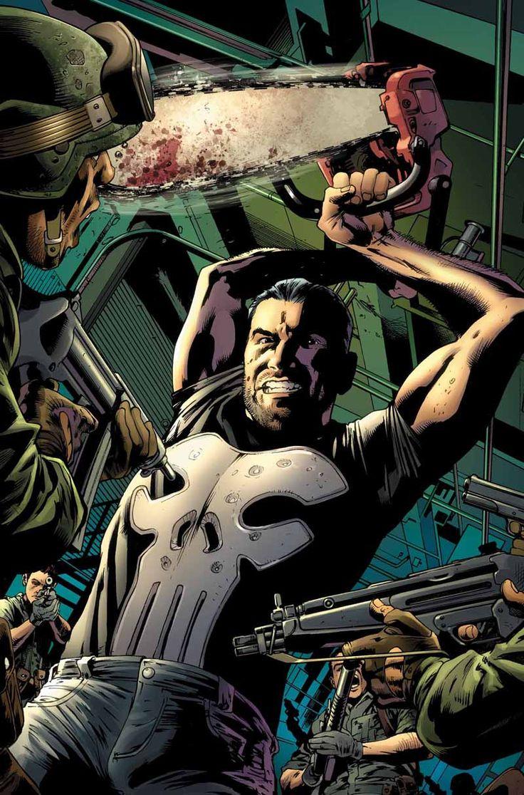 #Punisher #Fan #Art. THE PUNISHER #1 Cover by BRYAN HITCH. (THE * 5 * STÅR * ÅWARD * OF: * AW YEAH, IT'S MAJOR ÅWESOMENESS!!!™)[THANK Ü 4 PINNING!!!<·><]<©>ÅÅÅ+(OB4E)