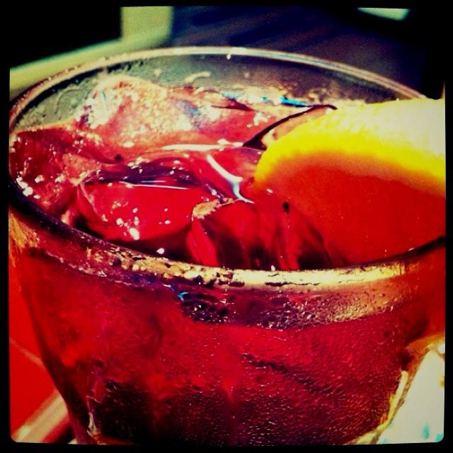 Scarlet drink!