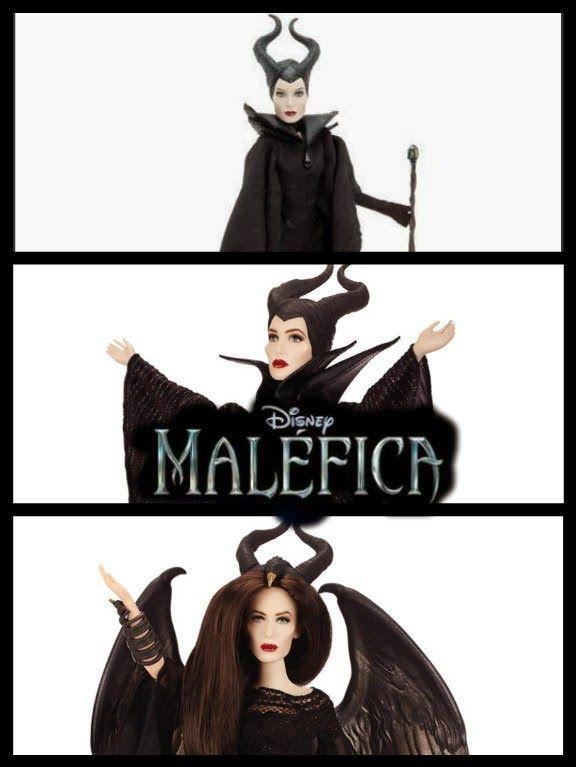 NUEVA muñeca de Maléfica (El Mundo de los Villanos)