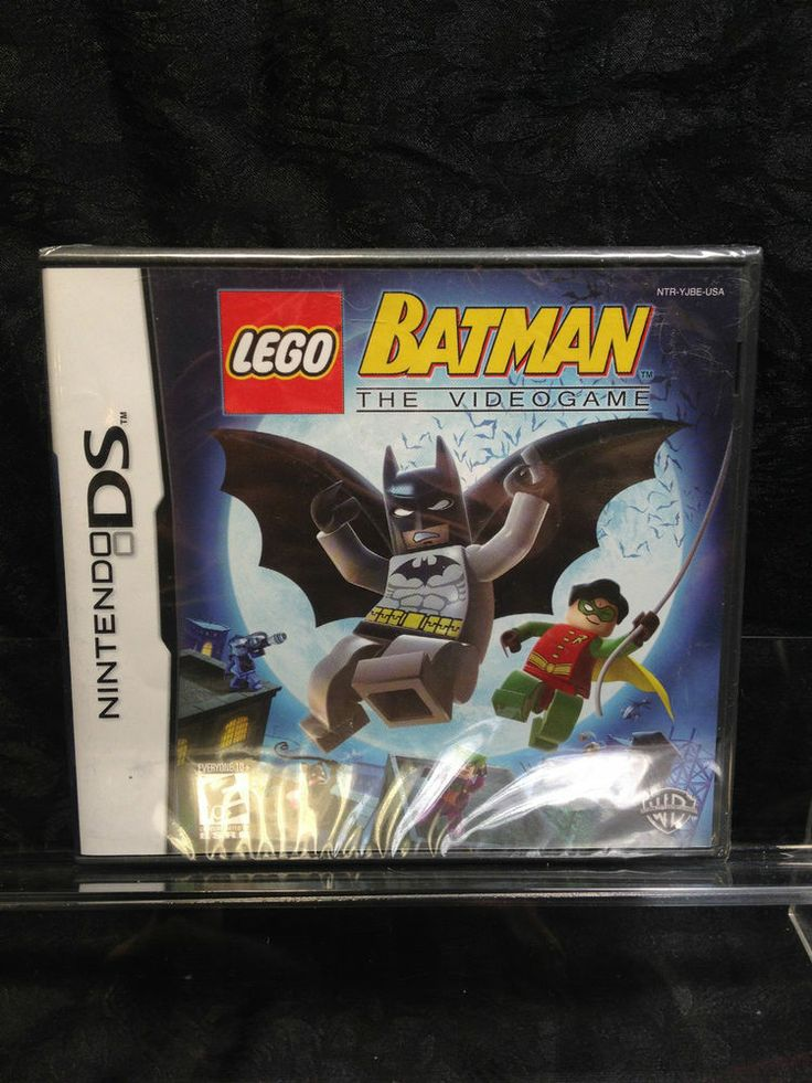 LEGO Batman: The Videogame for Nintendo DS. Also for 3DS, DSi, XL, DS Lite
