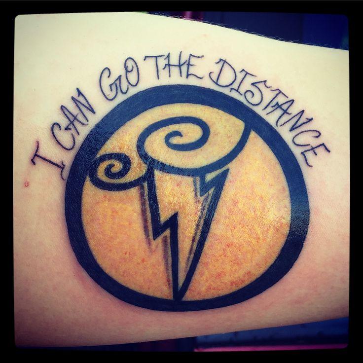 "Disney Hercules Tattoo ""I Can Go The Distance"" Symbols of the gods."
