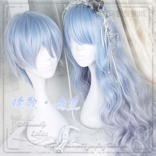 Japanese-Harajuku-Sweet-Gothic-Lolita-Lovers-Cosplay-Dairy-Blue-Gradient-Wig