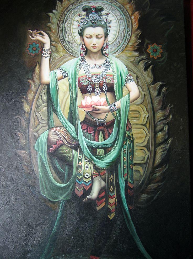 CULTURAS ANTIGUAS: Guan Yin,(mitología budista)                                                                                                                                                                                 Más