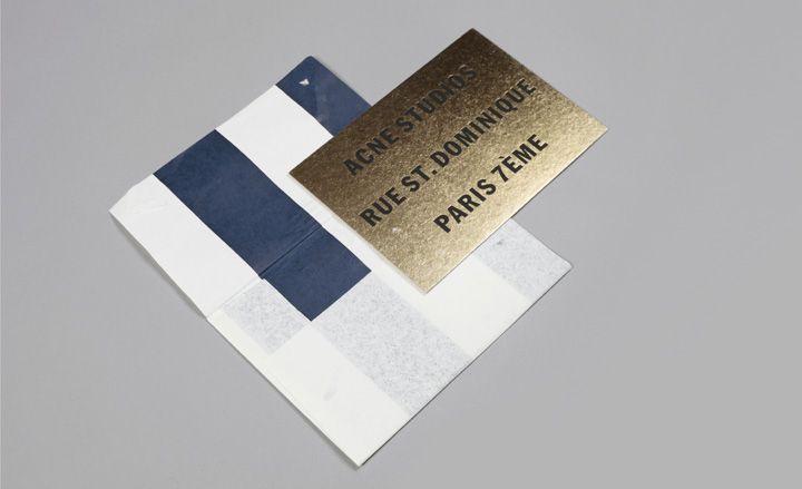 Men's fashion week S/S 2013 show invitations | Wallpaper* Magazine
