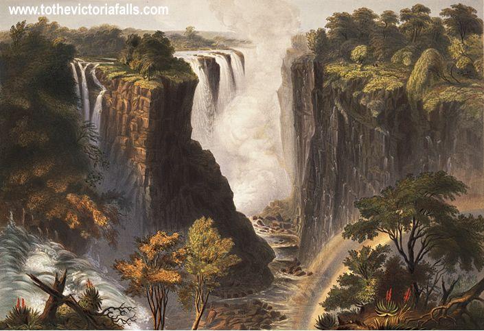 Thomas Baines, Victoria Falls.