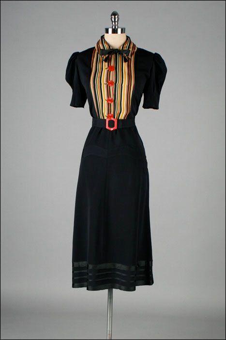 Dress 1940s Mill Street Vintage - OMG that dress!