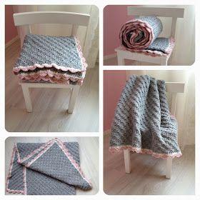 Gehaakte deken.. met de corner to corner steek gehaakt. en acryl van de Wibra