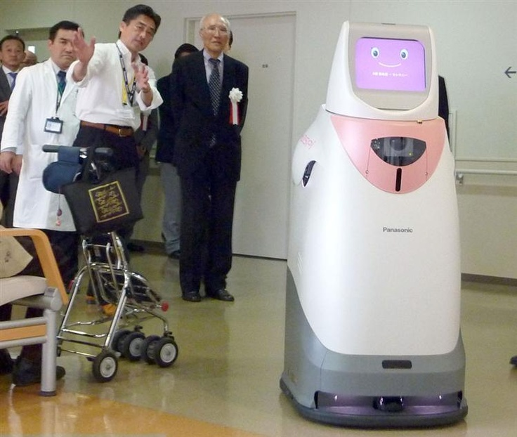 #Panasonic Medical Robot Activated...#medicalrobotics #legacymedsearch