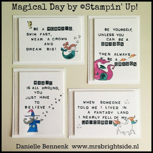 Quote Cards For On Stage Display Myths U0026 Magic Product Suite With Magical  Day Stamp Set