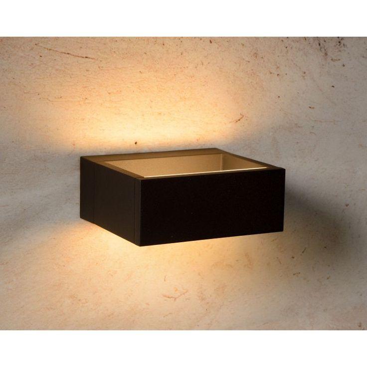 Garot, zwarte moderne wandverlichting - tuinverlichting